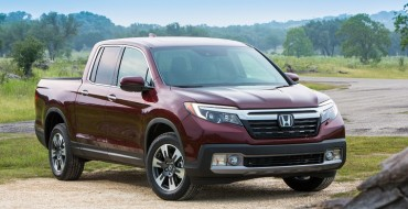 2019 Honda Ridgeline Earns IIHS Top Safety Pick Rating