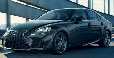 2019 Lexus IS 300 F SPORT gets the Black Line Special Edition