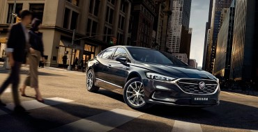 Buick Reveals Its Updated LaCrosse Model for the Chinese Market
