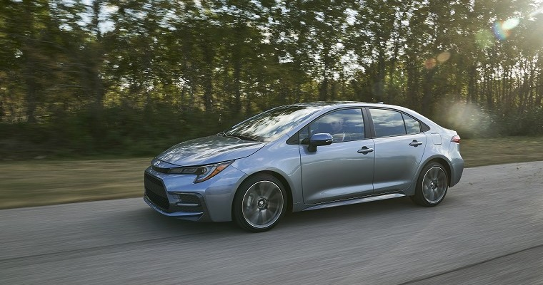 12th Generation Toyota Corolla Rolls Off the Assembly Line in Mississippi