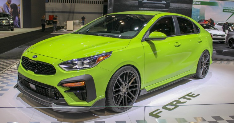 Visually Powerful Kia Forte GT-Line Arrives in Chicago
