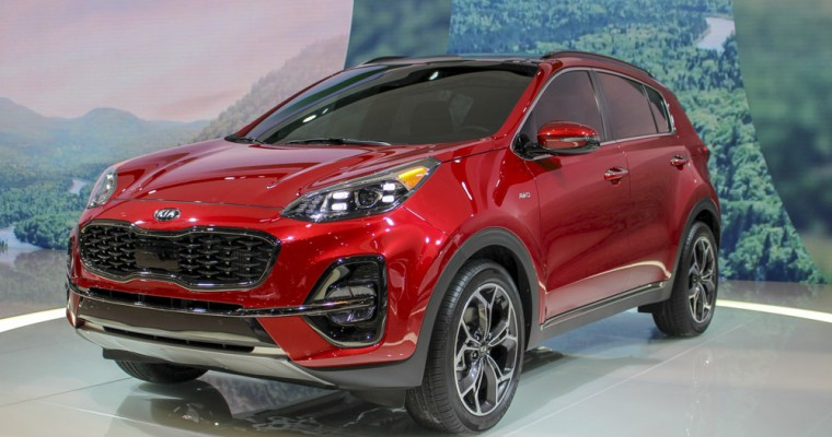 Kia Debuts 2020 Sportage at 2019 Chicago Auto Show