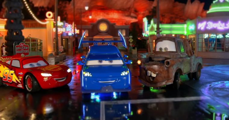 "Mobile DJ ""Cars"" Character Makes His Way to Disney's Hollywood Studios"