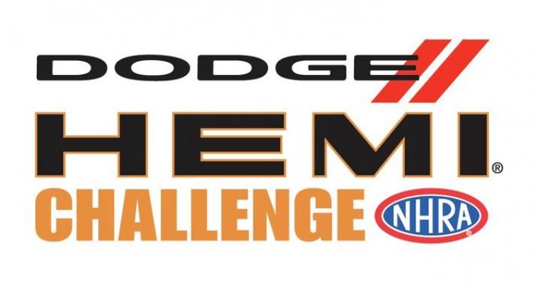 Dodge//SRT to Sponsor 19th Annual NHRA Dodge HEMI® Challenge in Indianapolis
