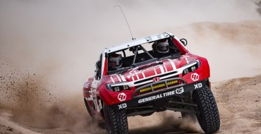 Honda Takes Class Victory at Mint 400