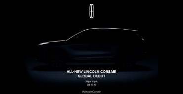 Lincoln Corsair Debut Set for New York Auto Show