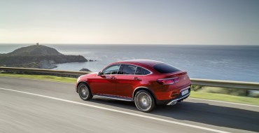 Mercedes-Benz Unveils Redesigned GLC Coupe