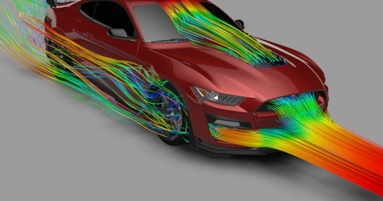 Supercomputers and 3D Printing Help Make the 2020 Mustang Shelby GT500 So Bonkers