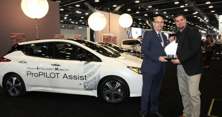 AJAC Honors Nissan LEAF as the 2019 Canadian Green Car of the Year