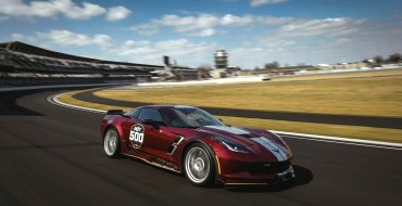 2019 Chevy Corvette Grand Sport Is Official Pace Car at Gainbridge-Sponsored Indianapolis 500