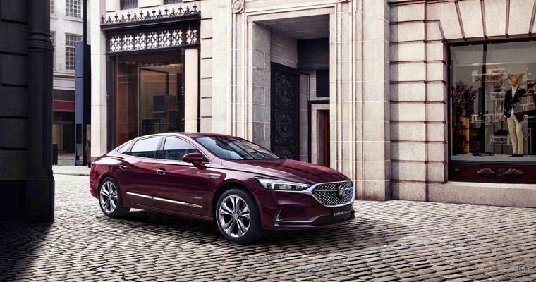 Refreshed 2020 Buick LaCrosse Avenir on Sale in China