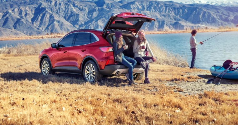2020 Ford Escape Scores IIHS TOP SAFETY PICK