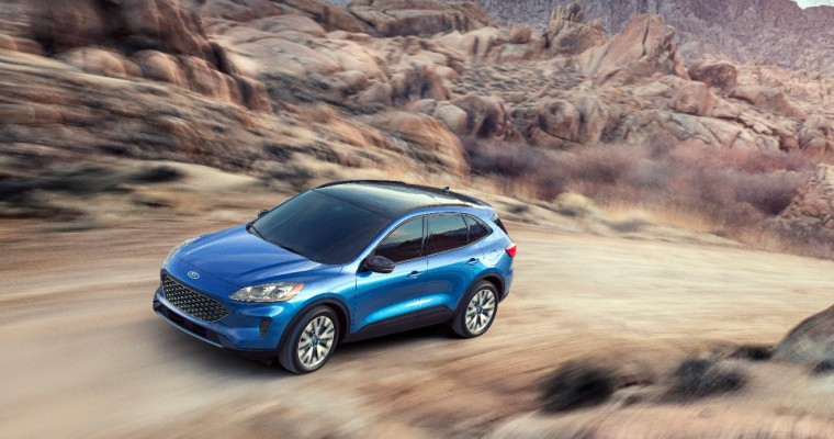 2020 Ford Escape Gets Sharp New Look, Hybrid and PHEV Options