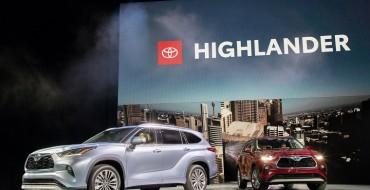 Toyota Shows Off All-New 2020 Highlander SUV