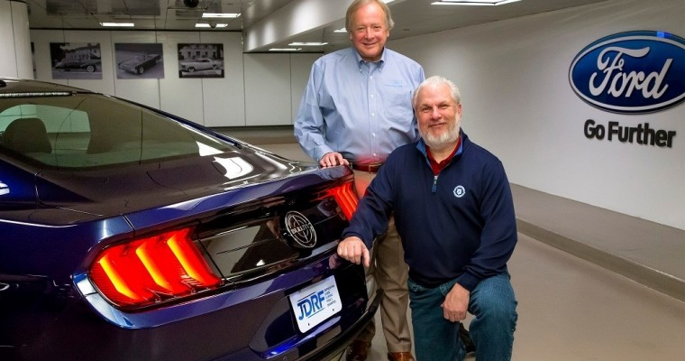 Jesse Foster Takes Delivery of Kona Blue Ford Mustang Bullitt