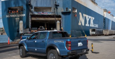First New Ford Ranger Trucks Ship from Port Elizabeth