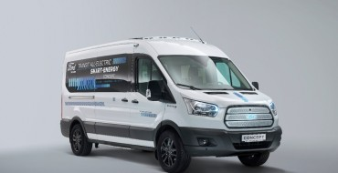 Ford Reveals Battery-Electric Transit Smart Energy Concept
