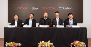 Toyota Leads $1 Billion Investment in Uber Self-Driving Tech