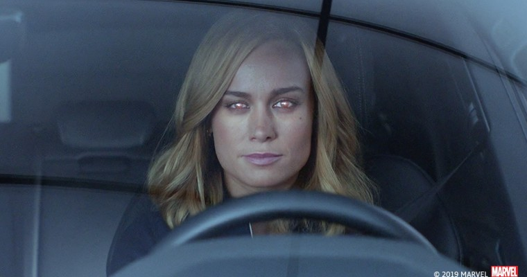 SPOILER-FREE: Captain Marvel Gets Ready for 'Endgame' with Audi