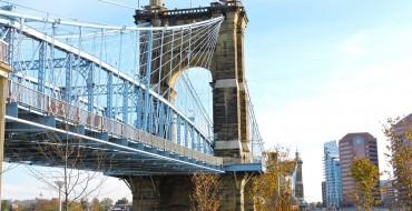 Roebling Suspension Bridge Near Cincinnati Closes for Repairs