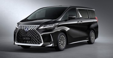 The Lexus LM Minivan is Pretty Much a Personal Limousine