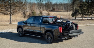 GMC CarbonPro Truck Bed Stands Up to Hurricane-Force Projectiles