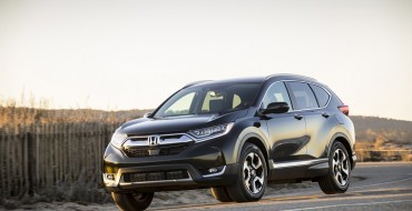 2019 Honda Accord, CR-V and Odyssey Named Best Family Cars of 2019