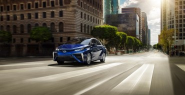 Toyota Mirai Fuel Cell Car Now Available in Canada