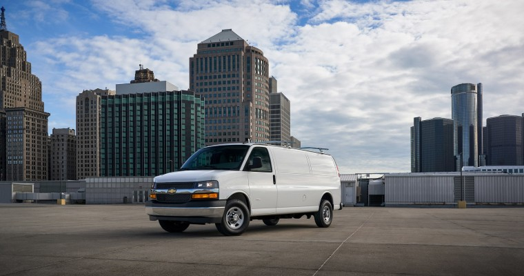 Chevy Express Vans an Appealing Option with $3500 May Rebate