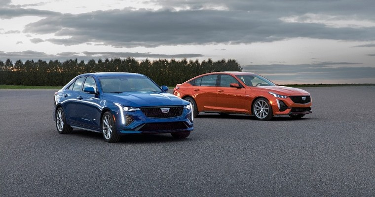 Cadillac Unveils 2020 CT4-V and CT5-V Performance Sedans