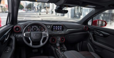 2019 Chevrolet Blazer Claims Spot on Wards 10 Best UX List