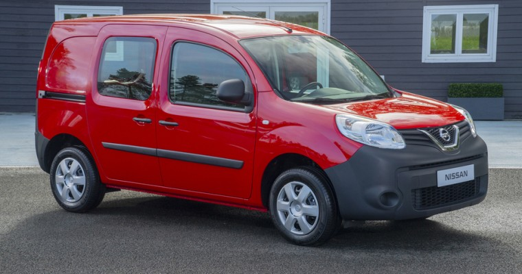 Nissan Debuts All-New Compact Van to European Drivers