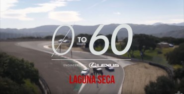 Celebrities Hit the Track for the Lexus 0 to 60 Challenge