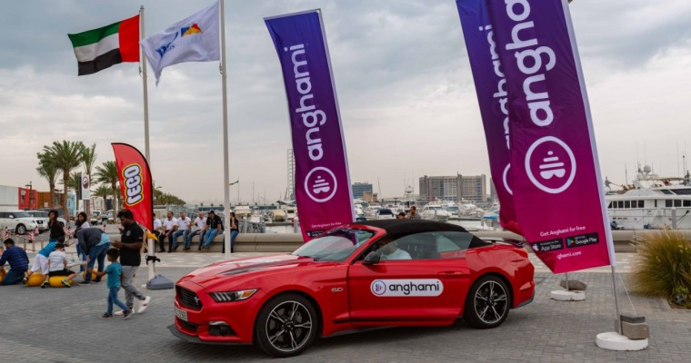 Ford Middle East Adds Anghami Compatibility to SYNC 3