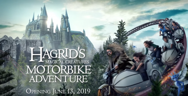Climb Aboard an Enchanted Motorbike in the Latest Addition to the Wizarding World of Harry Potter