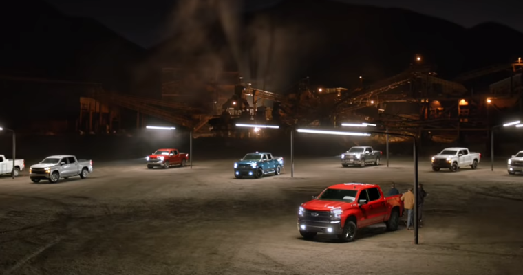 """New """"Real People, Not Actors"""" Ad Shines a Spotlight on the Chevy Silverado"""