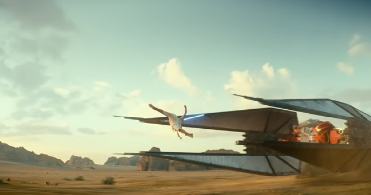 """""""Star Wars: The Rise of Skywalker"""" Trailer Showcases New and Familiar """"Star Wars"""" Vehicles"""
