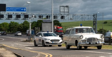 Ford Celebrates 60 Years of the M1 with Police Mondeo Hybrid