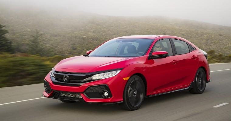 2019 Honda Civic Hatchback Beats Toyota Corolla in Head-to-Head