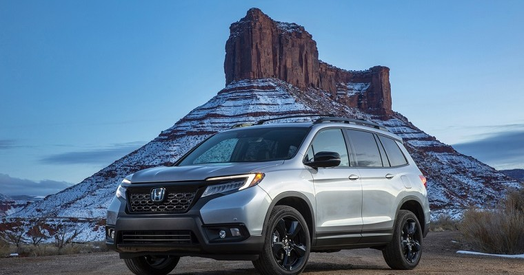 2019 Honda Passport Gets 5-Star Safety Rating