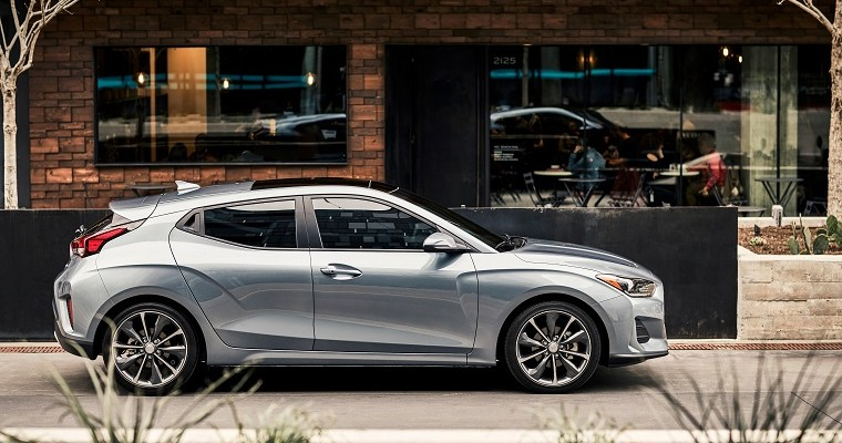 2019 Veloster Joins Hyundai's Lineup of IIHS Top Safety Picks