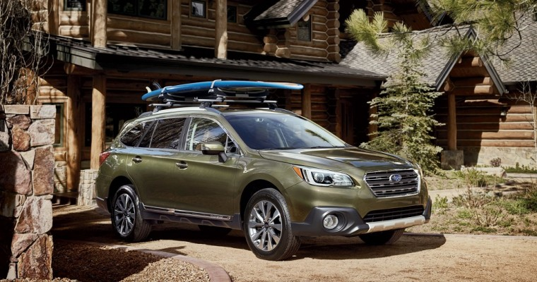 Outback, Forester, and Ascent Give Subaru its Best-Ever May Sales