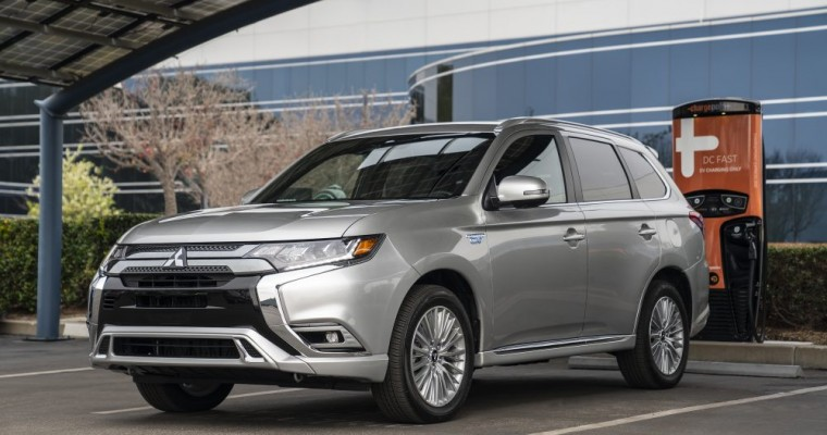 NHTSA Gives 2020 Mitsubishi Outlander PHEV a High Safety Rating