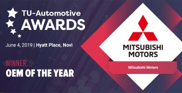 Mitsubishi Named 'Telematics OEM of the Year' for Road Assist+ App