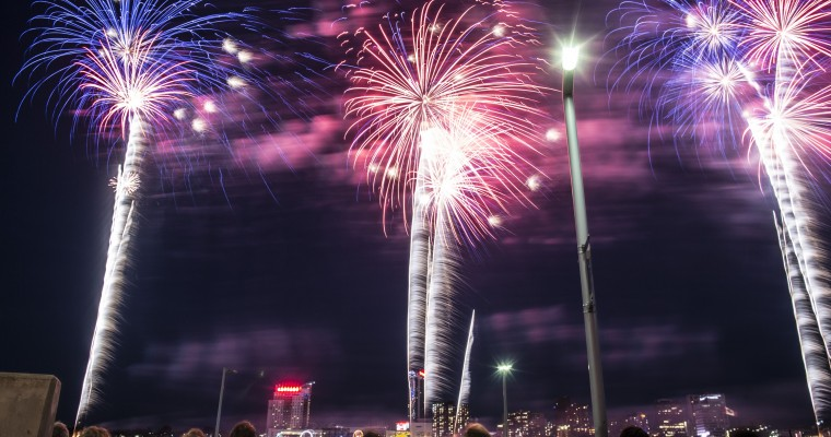 2019 Ford Fireworks Going Ka-Boom Tonight in Detroit
