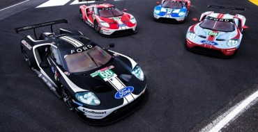 Ford Says Au Revior to Le Mans with GT Celebration Liveries