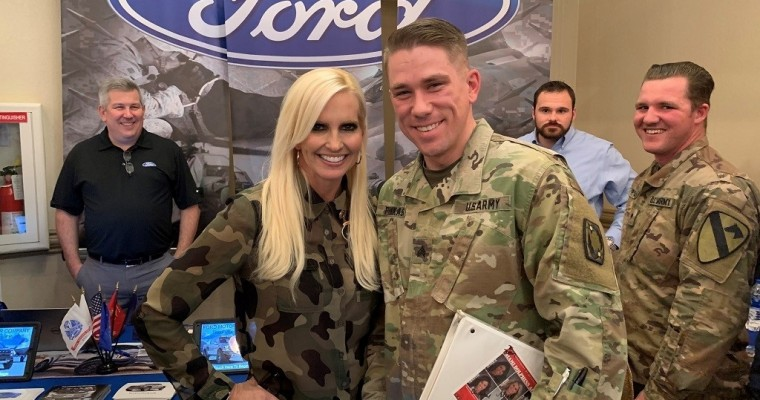 Ford, Lincoln Named One of MilitaryTimes' Best for Vets Employers