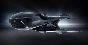 """Lexus and """"MIB: International"""" Show Off a Spindle-Grille Spaceship"""