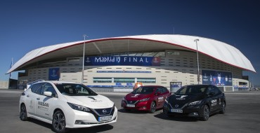 Nissan LEAF and e-NV200 to Electrify UEFA Champions League Final in Madrid