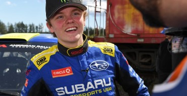 Swedish Driving Prodigy Oliver Solberg Gives Subaru the Win at Olympus Rally